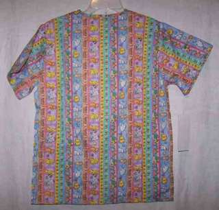 SCRUBS TOP * XS Dogs & Cats POODLES 40 TLC vet office