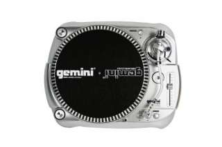 GEMINI TT 1000 BELT DRIVE MANUAL DJ PRO TURNTABLE NEW
