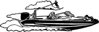 Boat Window Vinyl Decal Sticker Car Truck Signs Trailer Wall