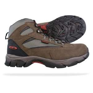 Tec Kruger WP Mens Waterproof Hiking Boots   Brown
