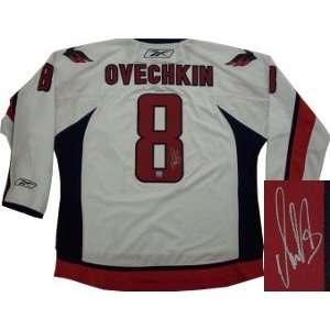 Alexander Ovechkin signed Washington Capitals White Reebok
