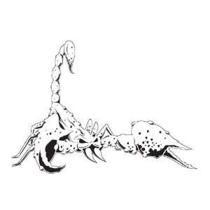 SCORPION 4 AIRBRUSH STENCIL AIR BRUSH TEMPLATE INSECT