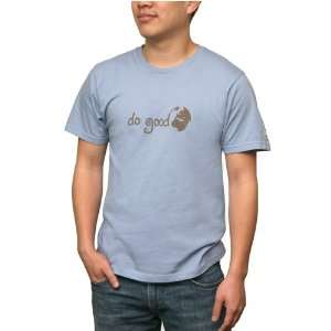 Organic Cotton Blue T Shirt Mens Expo West T Shirt [Men