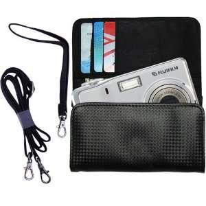 Black Purse Hand Bag Case for the Fujifilm FinePix F470
