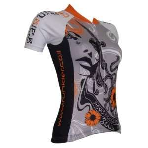Womens Cycling Bike Jersey Bicycle Excercise Shirt