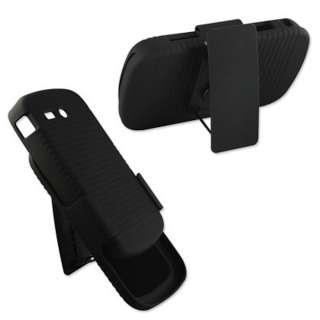 New Metro PCS Samsung Admire R720 Black Shell Holster Belt Clip Case