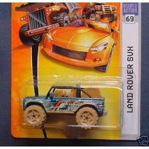 Muddy Metallic Blue with Orange and White Stripe Land Rover SVX Toys