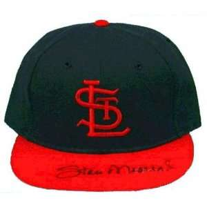 Stan Musial St. Louis Cardinals Autographed Ball Cap with