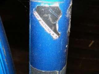 Hercules Blue & Chrome Bicycle Bike Made in Nottingham England