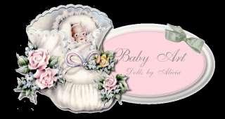 Reborn newborn baby William~Jase by Olga Auer.~BABY ART~ by Alicia