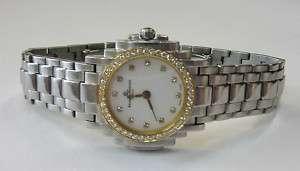 Baume & Mercier Geneve SS & 18K GOLD DIAMOND Watch