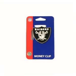 Oakland Raiders Logo Shaped Money Clip: Sports & Outdoors