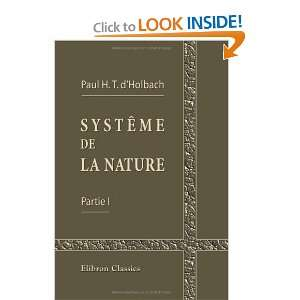 French Edition) (9781421212579): Paul Henri Thiery d Holbach: Books