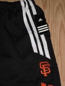 NEW San Francisco GIANTS YOUTH Medium M 10 12 Adidas Athletic Track
