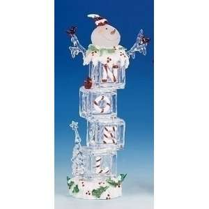 Ice Cube Snowman Noel Christmas Decoration #38975