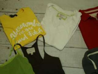 ABERCROMBIE & FITCH AMERICAN EAGLE T Tee Shirt top Lot Sz Large L