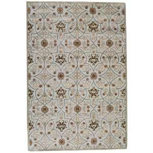 Grimsby Area Rug   3x5, Light Blue  Home & Kitchen