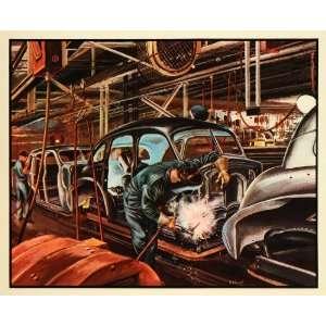 1939 Print Fisher Body General Motors Chevrolet Aaron