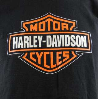 Harley Davidson Motorcycles Mancuso Houston Texas Mens T shirt Medium