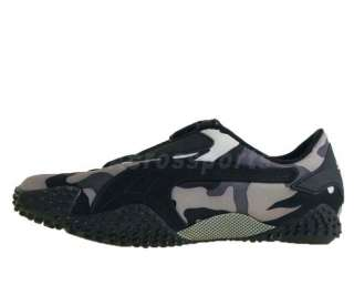 Puma Mostro Camo 2 Camouflage Black Grey White 2011 Mens Kung Fu Shoes