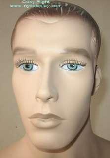New 6H Skintone Fullsize Male Mannequin Torso Form 71