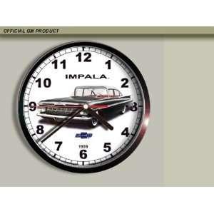 1959 Chevrolet Chevy Impala Wall Clock E009