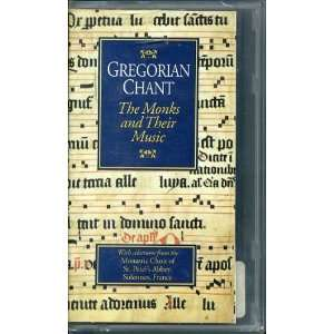 Gregorian Chant Monks and Music [VHS] McCraken Press