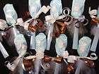 40PCS BABY SHOWER FAVORS BABY BOY MINTSPOONS BLUE&BROWN