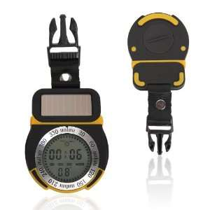 Pellor(TM) Solar Power Multifunctional Digital Compass & Altimeter