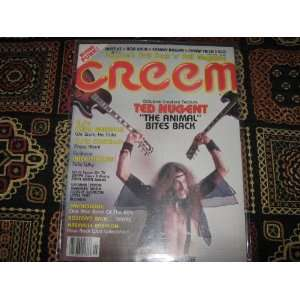 Creem Magazine (Ted Nugent , Elvis Costello , Keith