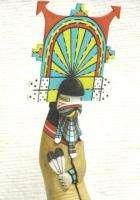 Hopi Indian Hand Carved BUTTERFLY Maiden 12 Kachina Katsina Doll