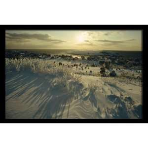 National Geographic, Winter at Monhegan Island, 20 x 30 Poster Print