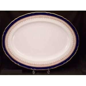Royal Worcester Regency Blue #Z1686 Platter Large  Kitchen
