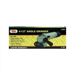 IIT 4 1/2 Heavy Duty 4.2 Amp Angle Grinder with Grinding Wheel