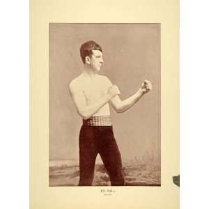 1894 Jim Hall Boxer Middleweight Champion Australia