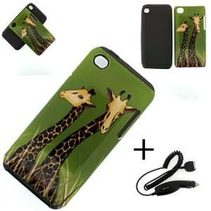 HYBRID CASE DOUBLE GIRL HARD COVER CASE + CAR CHARGER Cell Phones