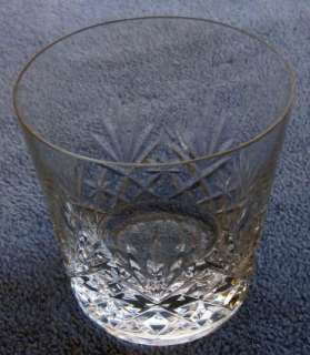 St. Louis Crystal Cristal France Massenet Double Old Fashioned Tumbler