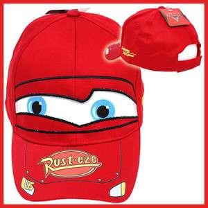 Cars McQueen Baseball Cap   Kids Hat Big Face /Cotton Canvas