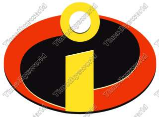 Incredibles Logo Iron on Transfer #1