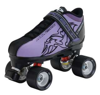 Purple & Red Mens Boys Womens Girls Roller Derby Skating Skates