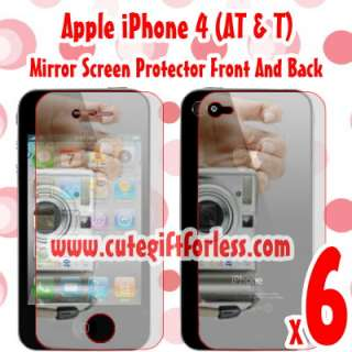 Mirror Front + Back Full Body Screen Protector Cover for Apple iPhone