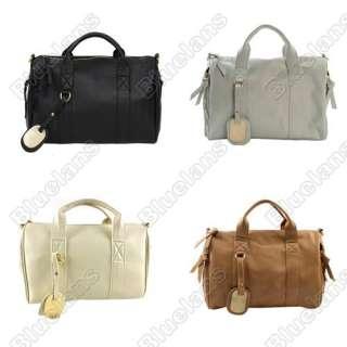 Celebrity Stud Studded Bottom Duffel Tote Bag Boston Bag Travelling