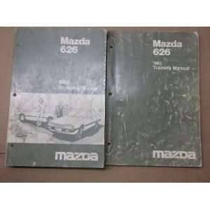 1983 Mazda 626 Shop Service Repair Manual Set FACTORY (service manual