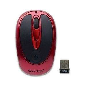 4GHz Wireless Mouse Red (Input Devices Wireless)