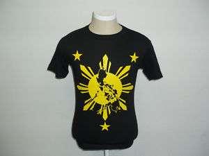 Filipino T shirt. Island Sun and Stars.