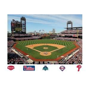 Inside Citizens Bank Park Mural Wall Graphic  Sports