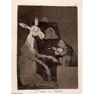 Francisco de Goya   24 x 32 inches   Ni mas ni menos 1: Home & Kitchen