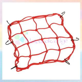 Motorcycle Bungee Cargo Net Helmet Luggage Package Bike Carrier Bag