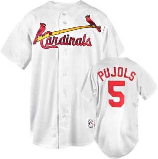 Pujols Majestic MLB Replica St. Louis Cardinals Kids 4 7 Jersey