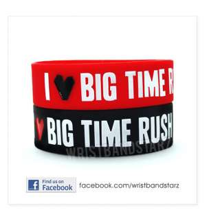 LOVE BIG TIME RUSH BRACELET WRISTBAND BTR Kendall Logan Carlos James